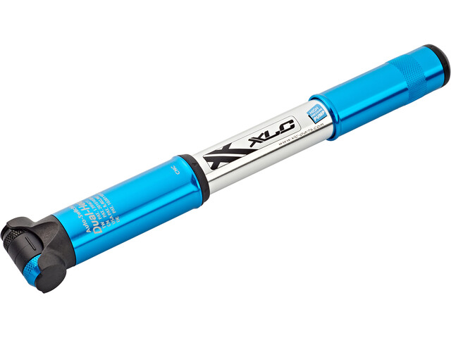 XLC Race PU-R03 Mini pompa, blue/silver